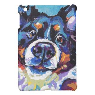 FUN Bernese Mountain Dog pop art painting iPad Mini Cover