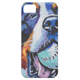 FUN Bernese Mountain Dog pop art painting iPhone 5 Covers