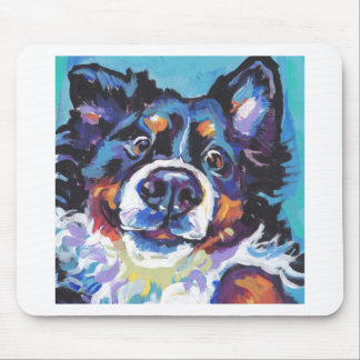FUN Bernese Mountain Dog pop art painting Mouse Pad
