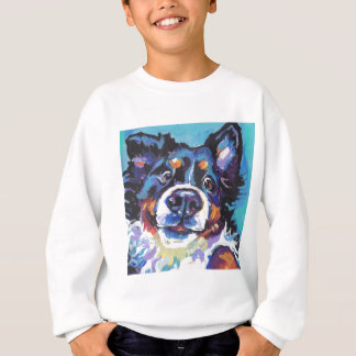 FUN Bernese Mountain Dog pop art painting Sweatshirt