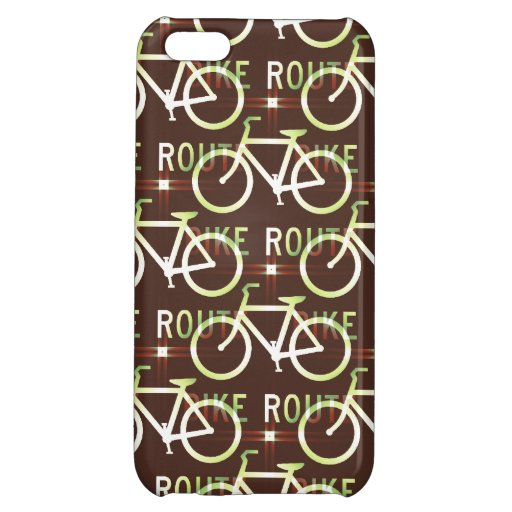Fun Bike Route Fixie Vintage Bicycle Cyclist iPhone 5C Covers