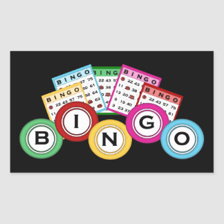 Fun Bingo lovers gambling sticker