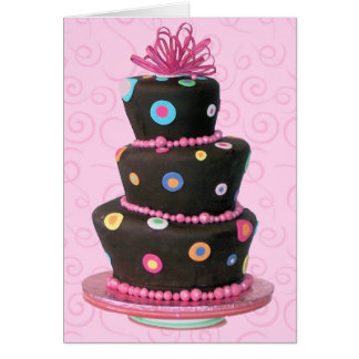Fun Birthday Cake card