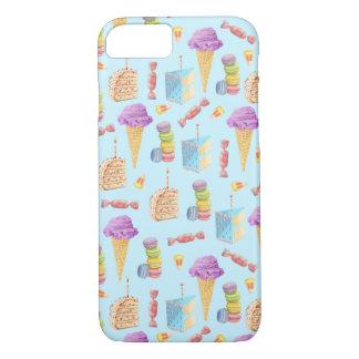 Fun Birthday Treats Pattern iPhone 7 Case