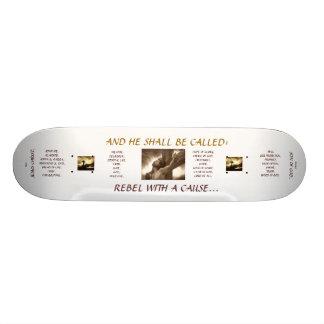 "FUN BOARD : Jesus Christ - ""Rebel With A Cause"" Skate Board Decks"