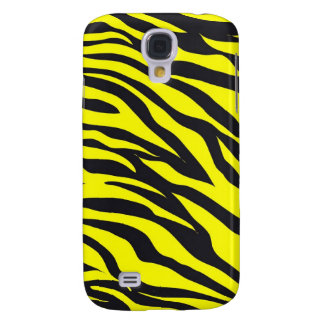 Fun Bold Yellow Zebra Stripes Wild Animal Print
