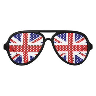 Fun British flag party glasses | Union Jack shades Party Sunglasses