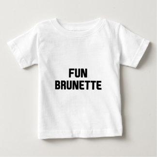 Fun Brunette Baby T-Shirt