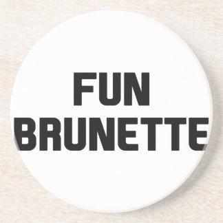 Fun Brunette Coaster