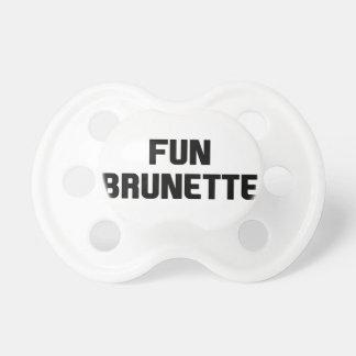 Fun Brunette Pacifier