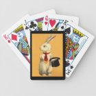 Fun Bunny Rabbit Magic Act Design Playing Cards