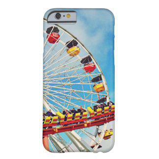 Fun carnival ferris wheel and roller coaster photo barely there iPhone 6 case