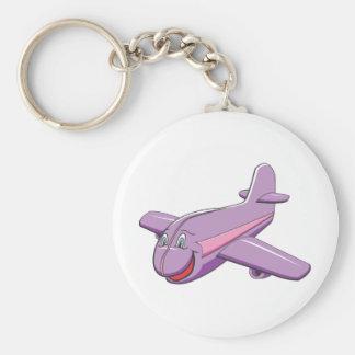 Fun Cartoon airplane Keychain