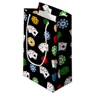 Fun casino gambling pattern party bag