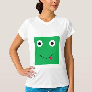 Fun Character Activewear Shirt For Women: Green