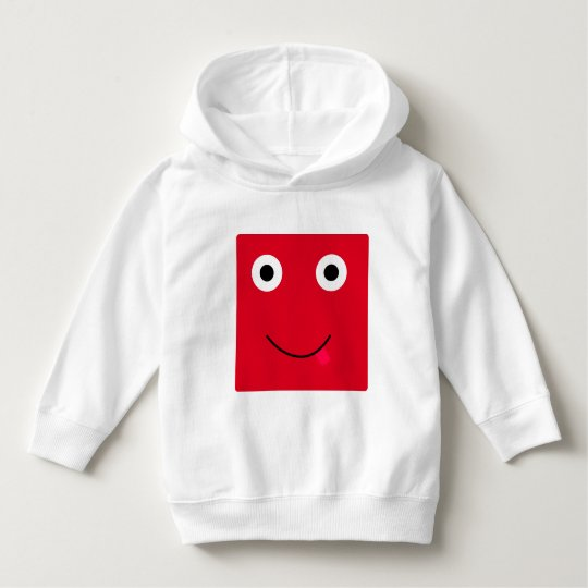 Fun Character Hoodie For Toddlers: Red