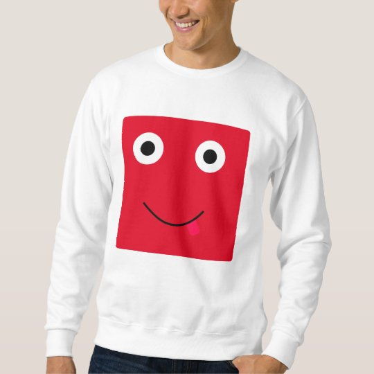 Fun Character Sweatshirt For Men: Red