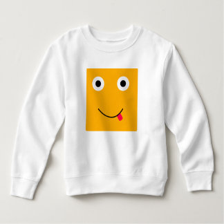 Fun Character Sweatshirt For Toddlers: Yellow