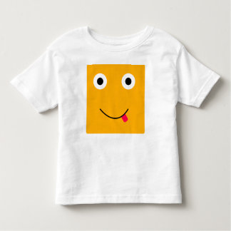 Fun Character T-Shirt For Toddlers: Yellow