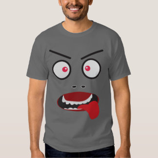 Fun Cheeky angry face Shirts