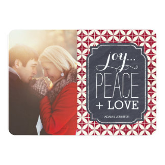 "Fun Christmas Photo Cards 5"" X 7"" Invitation Card"