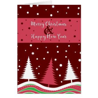 Fun Christmas Trees Card