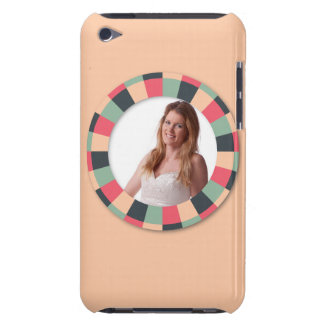 Fun Circle frame - vintage candy - light Barely There iPod Covers