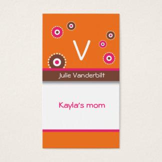 Fun circles Mommy Card