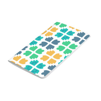 Fun clover pocket notebook