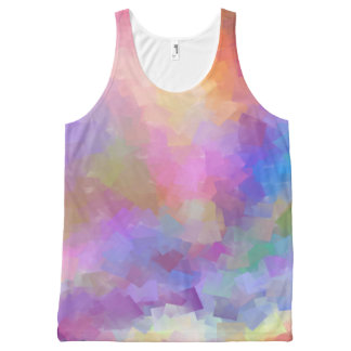 Fun colored All-Over-Print tank top
