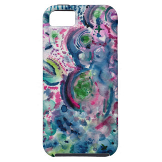 fun colorful abstract design case for the iPhone 5