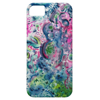 fun colorful abstract design iPhone 5 case