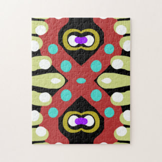 Fun Colorful Abstract Totem Design Puzzles