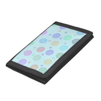 Fun Colorful Bubble Circle Design for your Wallet
