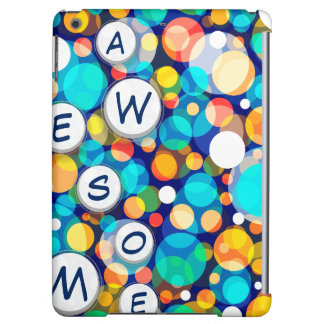 Fun Colorful Dots Pattern (Kids, Celebrations) iPad Air Cases
