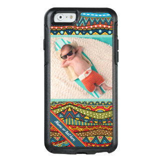 Fun Colorful Geometric Pattern OtterBox iPhone 6/6s Case