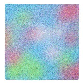 Fun Colorful Glitter Design Duvet Cover