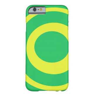 Fun Colorful Yellow and Green Circles Iphone case