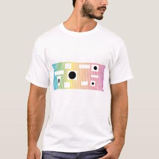 fun colour line and dot T-Shirt