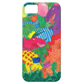 Fun Comical Brightly Coloured Monsters Case For The iPhone 5