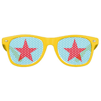 Fun Cool Star Custom Birthday Party Swag Shades Party Sunglasses