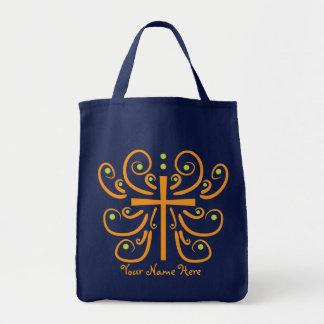 Fun Cross Design Tote Bag