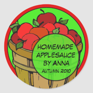Fun Custom Apple Labels