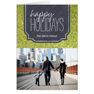 Fun Customizable Christmas Photo Greeting Card