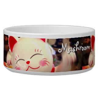 Fun, Cute Chinese Waving Cat Photo Custom Name Pet