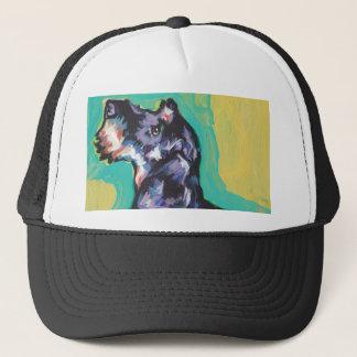 Fun DACHSHUND doxie dog bright colorful Pop Art Trucker Hat