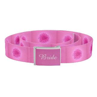 Fun deep pink floral belt wedding shower gift