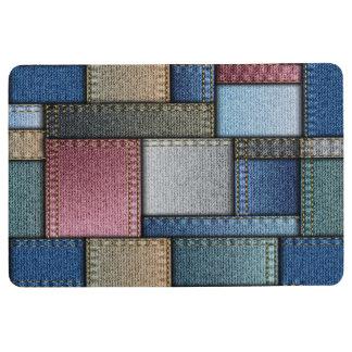 Fun Denim Look Floormat Floor Mat