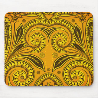 """Fun Designs"" _1970-Era-Bandanna Jungle Bird Mouse Pad"