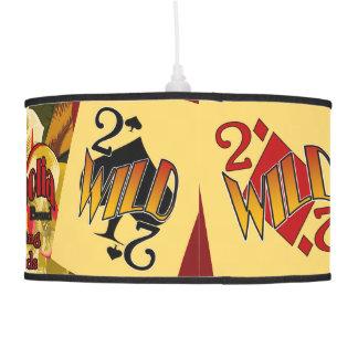 Fun Deuces Wild Poker Lamp